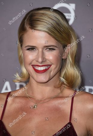 Sarah Wright arrives at the 2019 Baby2Baby Gala, in Culver City, Calif