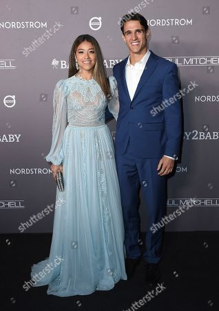 Gina Rodriguez, Joe Locicero. Gina Rodriguez and Joe Locicero arrive at the 2019 Baby2Baby Gala, in Culver City, Calif