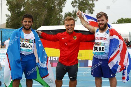 Editorial photo of 2019 World Para Athletics Championships in Dubai, United Arab Emirates - 10 Nov 2019