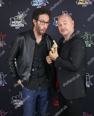 Manu Levy and Sebastien Cauet