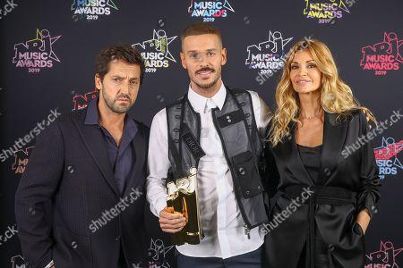 Editorial image of 21st NRJ Music Awards, Press Room, Cannes, Paris - 09 Nov 2019
