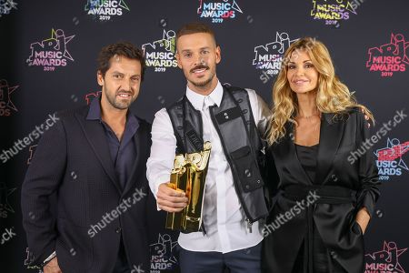 Ingrid Chauvin, Frederic Diefenthal and M Pokora