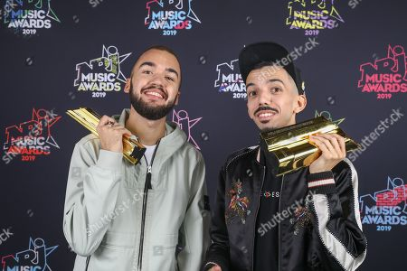 Editorial picture of 21st NRJ Music Awards, Press Room, Cannes, Paris - 09 Nov 2019