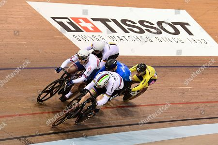 Jason Kenny of Great Britain during the Men's Keirin.