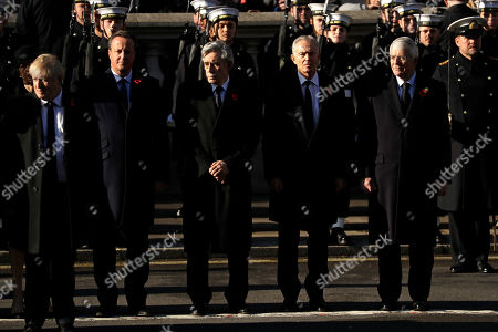 Editorial photo of Remembrance Sunday, London, United Kingdom - 10 Nov 2019