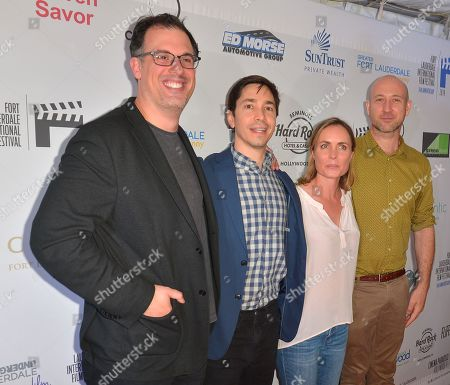 Daniel Schechter, Justin Long, Radha Mitchell and Ben Hackworth