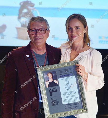 Gregory von Hausch and Radha Mitchell