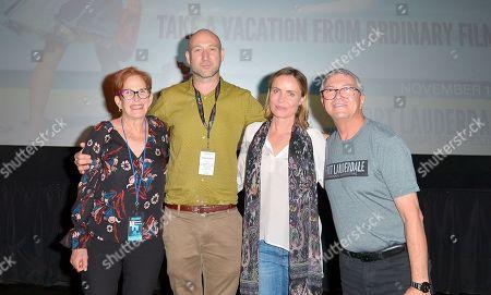 Estelle Fineberg, Ben Hackworth, Radha Mitchell and Gregory von Hausch