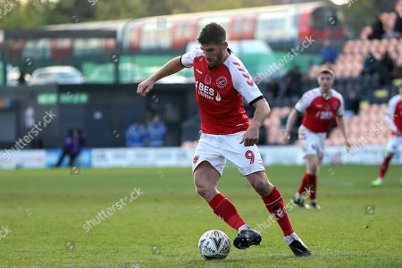 Ched Evans of Fleetwood Town during Barnet vs Fleetwood Town, Emirates FA Cup Football at the Hive Stadium on 10th November 2019