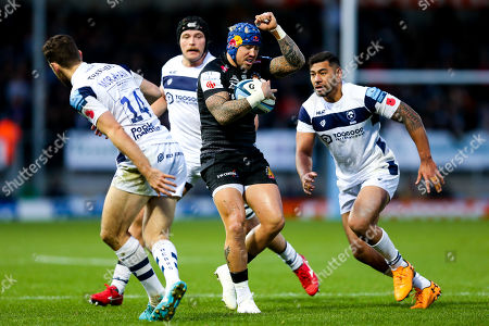 Jack Nowell of Exeter Chiefs calls mark