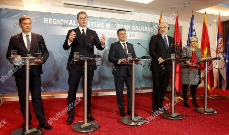 Editorial image of North Western Balkans, Ohrid, Macedonia - 10 Nov 2019