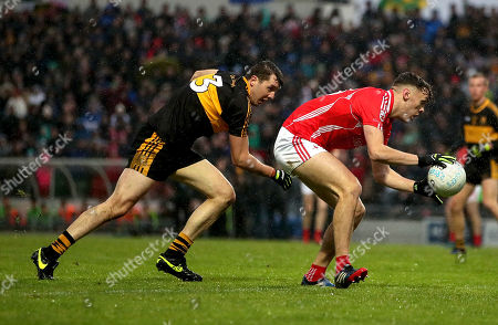 East Kerry vs Dr. Crokes. Dr Crokes' Michael Moloney and David Clifford of East Kerry