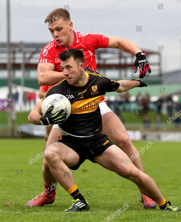 Stock Picture of East Kerry vs Dr. Crokes. Dr Crokes' John Payne and Darragh Roche of East Kerry