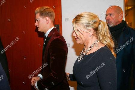 Mick and Corinna Schumacher