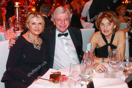Corinna Schumacher, Volker Bouffier, Ursula Bouffier