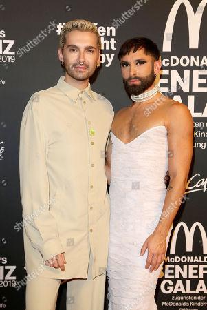 Bill Kaulitz and Conchita Wurst