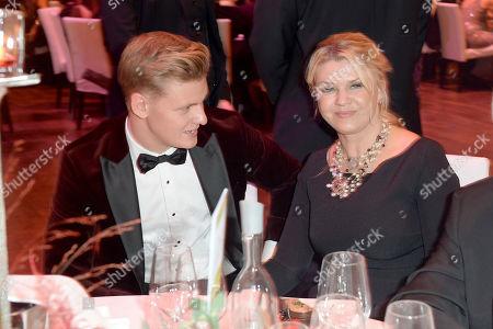 Corinna Schumacher and Mick Schumacher