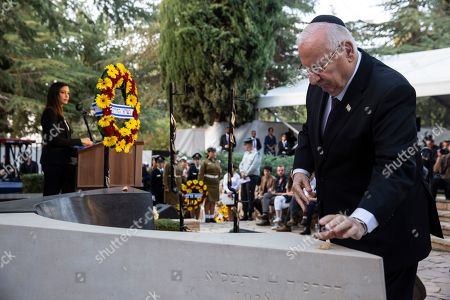 Editorial image of State memorial ceremony for Yitzhak and Leah Rabin in Jerusalem, - - 10 Nov 2019