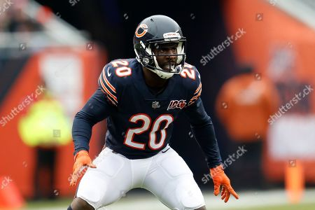 Chicago Bears cornerback Prince Amukamara plays against the Detroit Lions during the first half of an NFL football game in Chicago