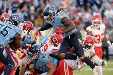 Editorial photo of Chiefs Titans Football, Nashville, USA - 10 Nov 2019