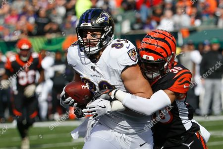 Editorial picture of Ravens Bengals Football, Cincinnati, USA - 10 Nov 2019