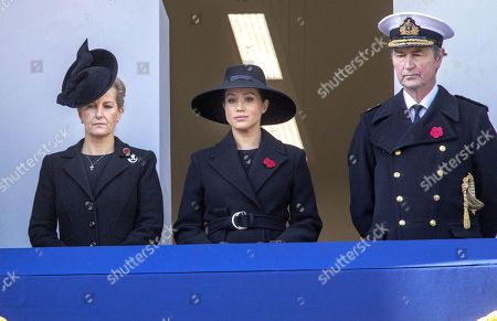Meghan Duchess of Sussex, Sophie Countess of Wessex and Prince Edward