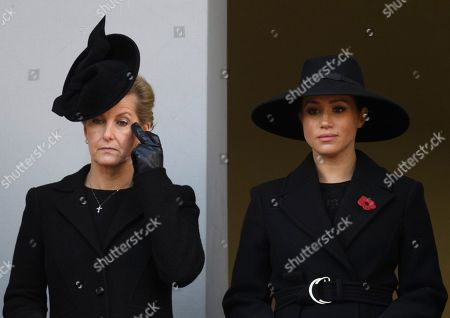 Sophie Countess of Wessex and Meghan Duchess of Sussex