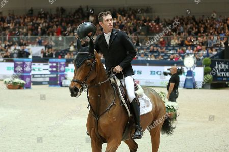 Scott Brash for Great-Britain riding Hello M'lady wins the Longines