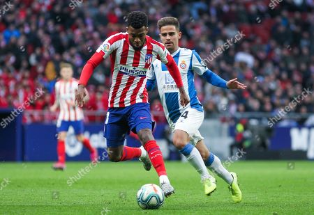 Thomas Lemar, player of Atletico Madrid from France
