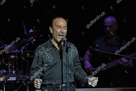 Lee Greenwood during his performance for the Veterans Day concert