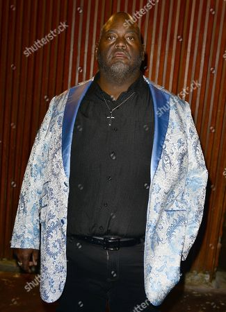 Lavell Crawford backstage