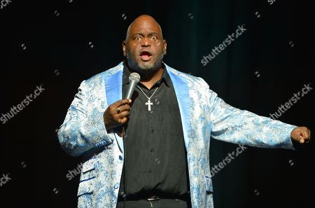 Stock Picture of Lavell Crawford performs on stage
