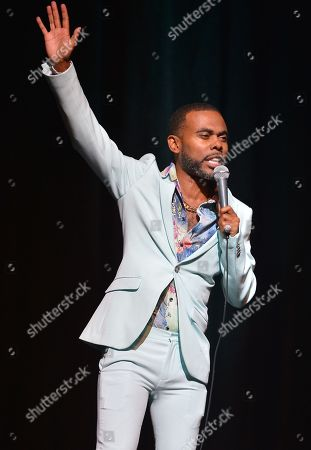 Lil Duval performs on stage