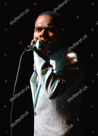 Stock Picture of Lil Duval performs on stage