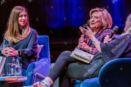 Hillary Clinton and Chelsea Clinton discuss The Book of Gutsy Women at Southbank Centre's Royal Festival Hall.