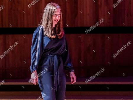 Chelsea Clinton discusses The Book of Gutsy Women at Southbank Centre's Royal Festival Hall.