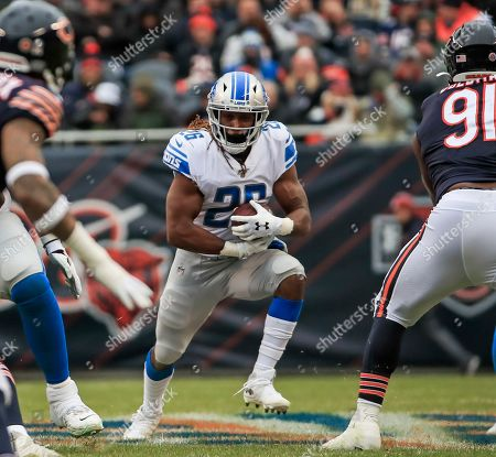 Editorial picture of Detroit Lions at Chicago Bears, USA - 10 Nov 2019