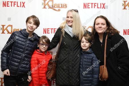 "Editorial image of NY Influencer Screening of NETFLIX's ""Klaus"", New York, USA - 10 Nov 2019"