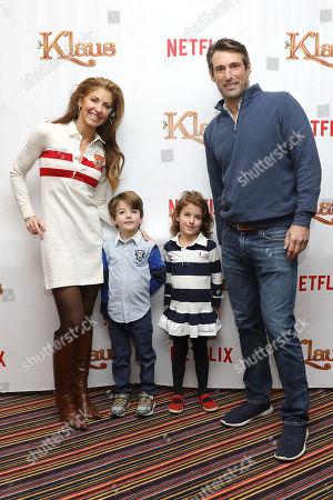 Dylan Lauren and Paul Arrouet with children