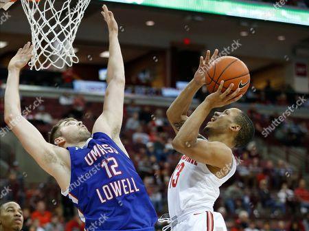 Editorial picture of UMass Lowell Ohio St Basketball, Columbus, USA - 10 Nov 2019