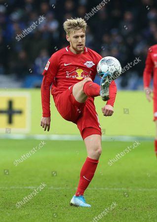 Emil Forsberg       / Sport / Football / DFL Bundesliga  /  2019/2020 / 09.11.2019 / Hertha BSC Berlin vs. RasenBallsport RB Leipzig RBL  / DFL regulations prohibit any use of photographs as image sequences and/or quasi-video. /