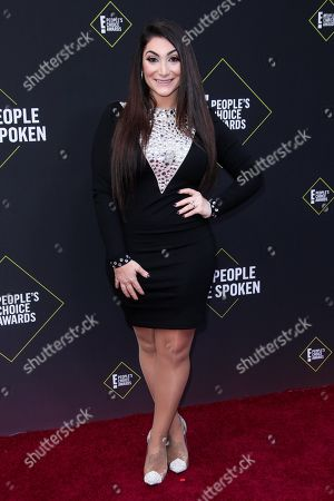 Editorial picture of 45th Annual People's Choice Awards, Arrivals, Barker Hanger, Los Angeles, USA - 10 Nov 2019