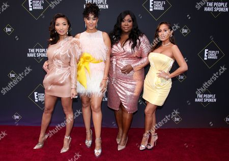 Stock Photo of Jeannie Mai, Tamera Mowry-Housley, Loni Love and Adrienne Houghton