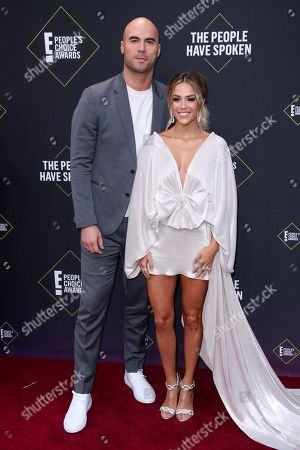 Stock Picture of Mike Caussin and Jana Kramer