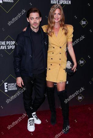 Tom Payne and Jennifer Akerman