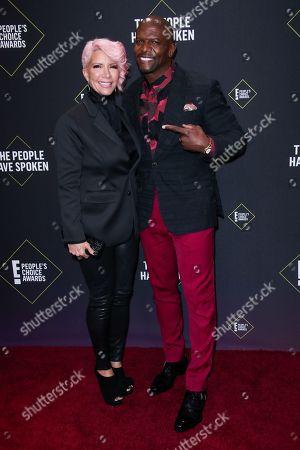 Rebecca Crews and Terry Crews