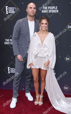 Stock Photo of Mike Caussin and Jana Kramer