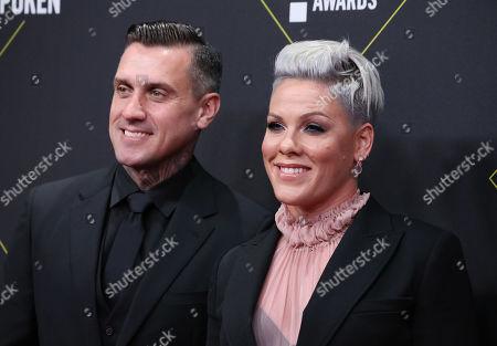Carey Hart and Pink