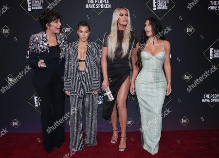 Kris Jenner, Kourtney Kardashian, Khloe Kardashian and Kim Kardashian West