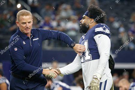Editorial image of Vikings Cowboys Football, Arlington, USA - 10 Nov 2019